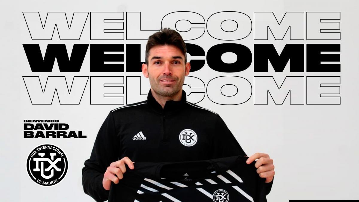 El DUX Inter de Madrid firma a David Barral, el primer fichaje con criptomonedas de la historia