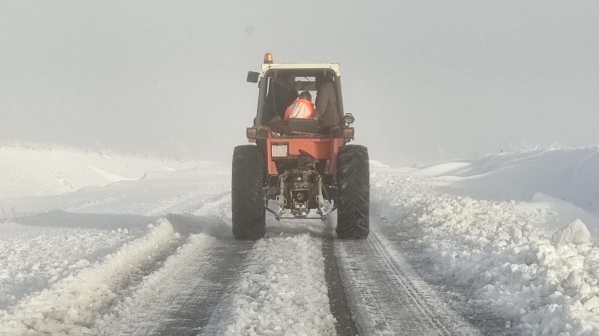 El hielo y la nieve provocan 26 incidencias en Cuenca, Guadalajara y Toledo durante la madrugada