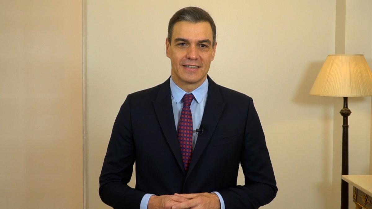 """Sánchez pone de ejemplo a Asturias de cómo hay que actuar frente al Covid, con """"medidas difíciles"""" para salvar vidas"""