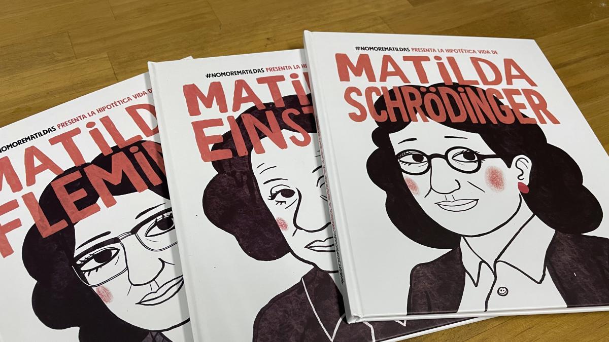 """#NoMoreMatildas o qué habría pasado si Einstein hubiese sido mujer: """"Los libros de texto están llenos de estereotipos"""""""