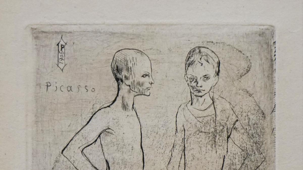 Grabados de Picasso de tema circense se podrán ver en el Museo de Arte Abstracto Español de Cuenca hasta el 30 de mayo
