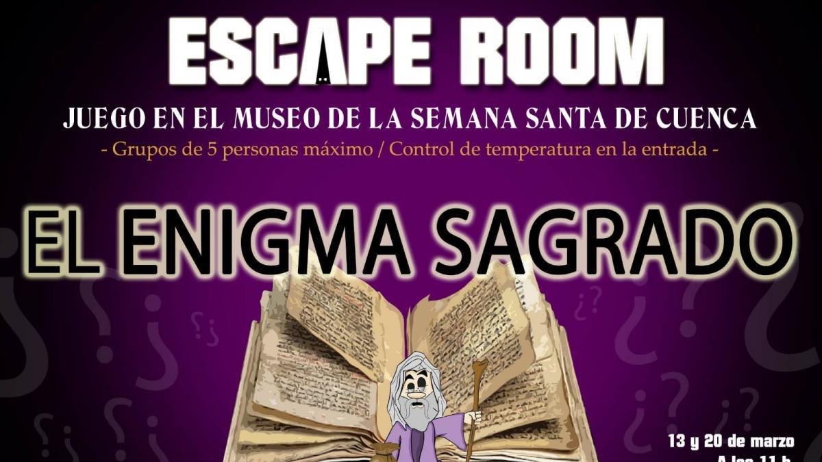Junta de Cofradías organizará en marzo el primer escape room dedicado a la Semana Santa de Cuenca