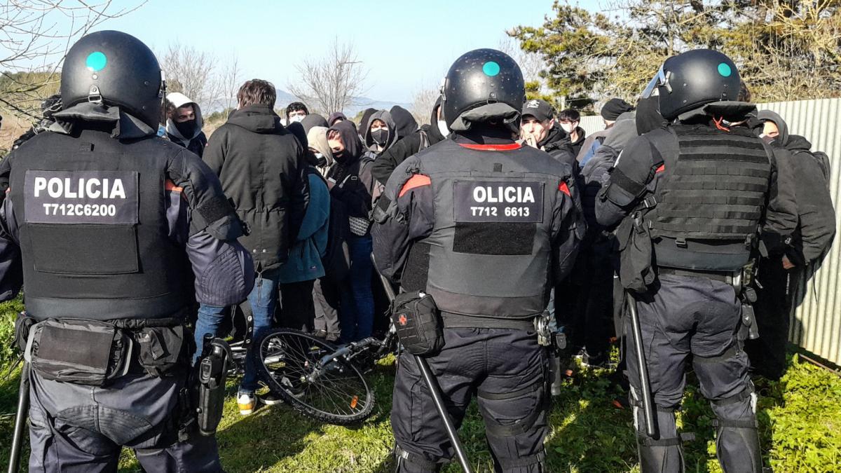 Reabierta la circulación en ambos sentidos de la AP-7 en Girona tras el corte por manifestación