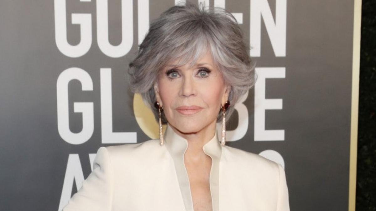 """""""Seamos líderes"""": El discurso de Jane Fonda al recibir el premio honorífico en los Globos de Oro"""