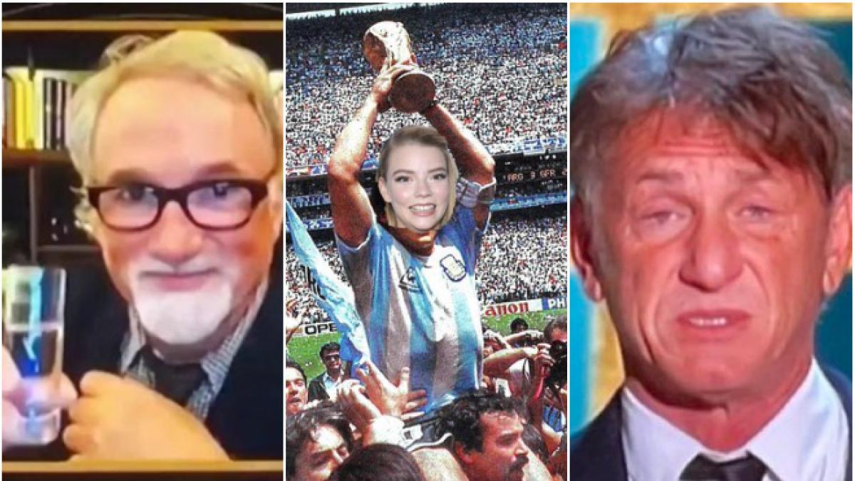 Globos de Oro 2021: De los chupitos de Fincher a la cara de Sean Penn, los mejores memes