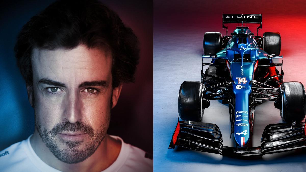 Fernando Alonso desvela las primeras fotos de su casco: vuelta a los orígenes