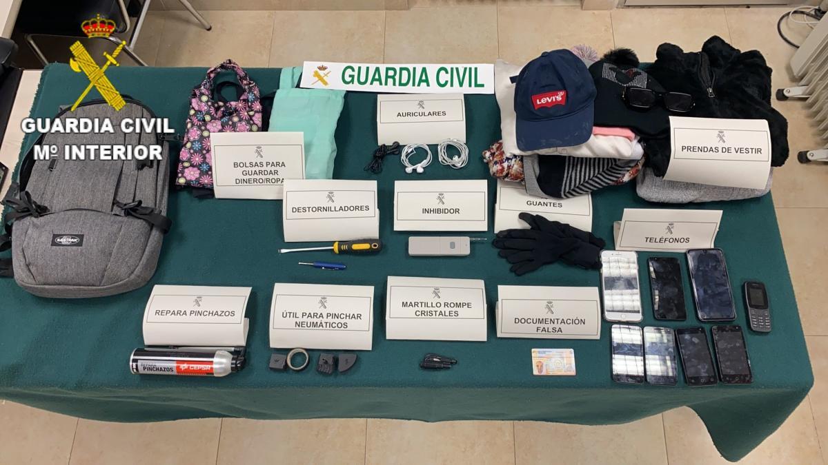 Cuatro detenidos en Tarancón por robar dinero a diferentes personas después de haberlo sacado del banco