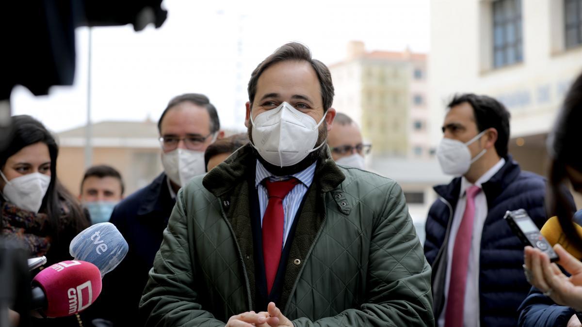 """Núñez avisa que CLM se acerca """"peligrosamente"""" a los 200.000 parados: """"Le pido a Page que escuche a la calle"""""""