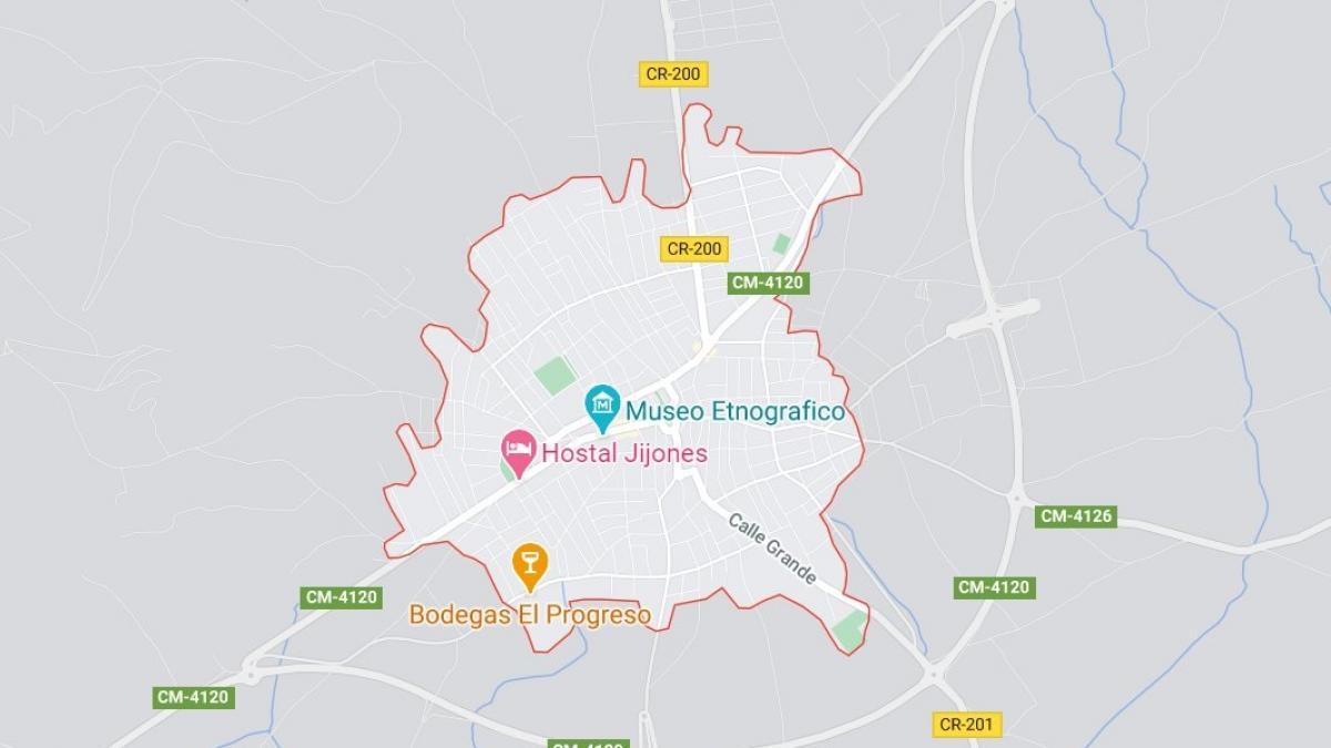 Sucesos.- Cuatro heridos, entre ellos una menor, tras la colisión frontolateral de dos coches en Villarrubia