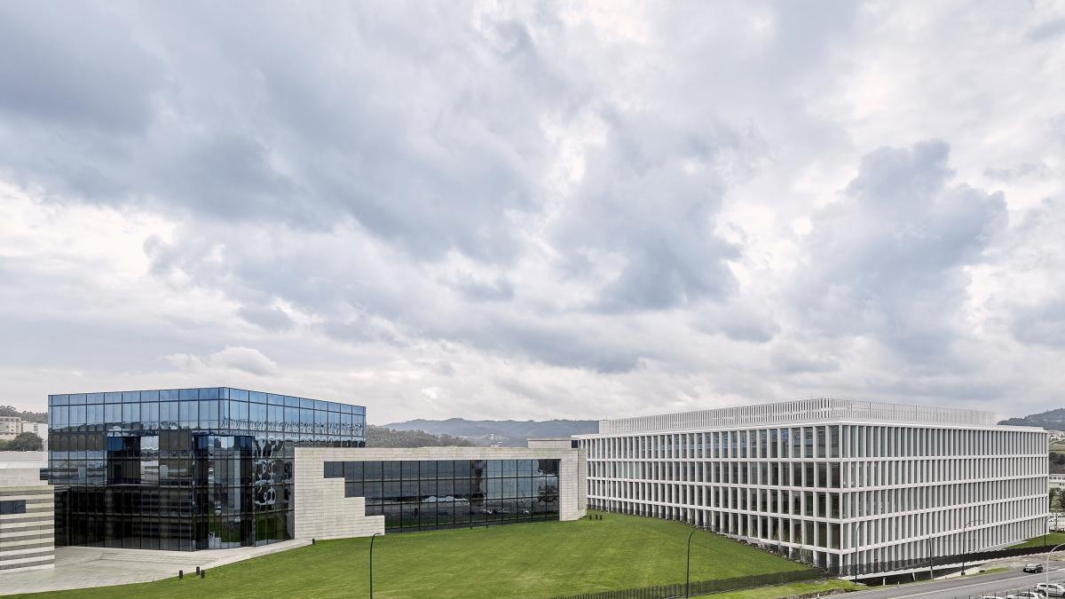 El nuevo edificio inteligente de Inditex en Arteixo: 67.000 metros cuadrados y 28 metros de altura