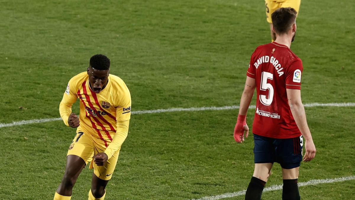 Victoria expeditiva del Barcelona contra Osasuna a la espera del derbi madrileño