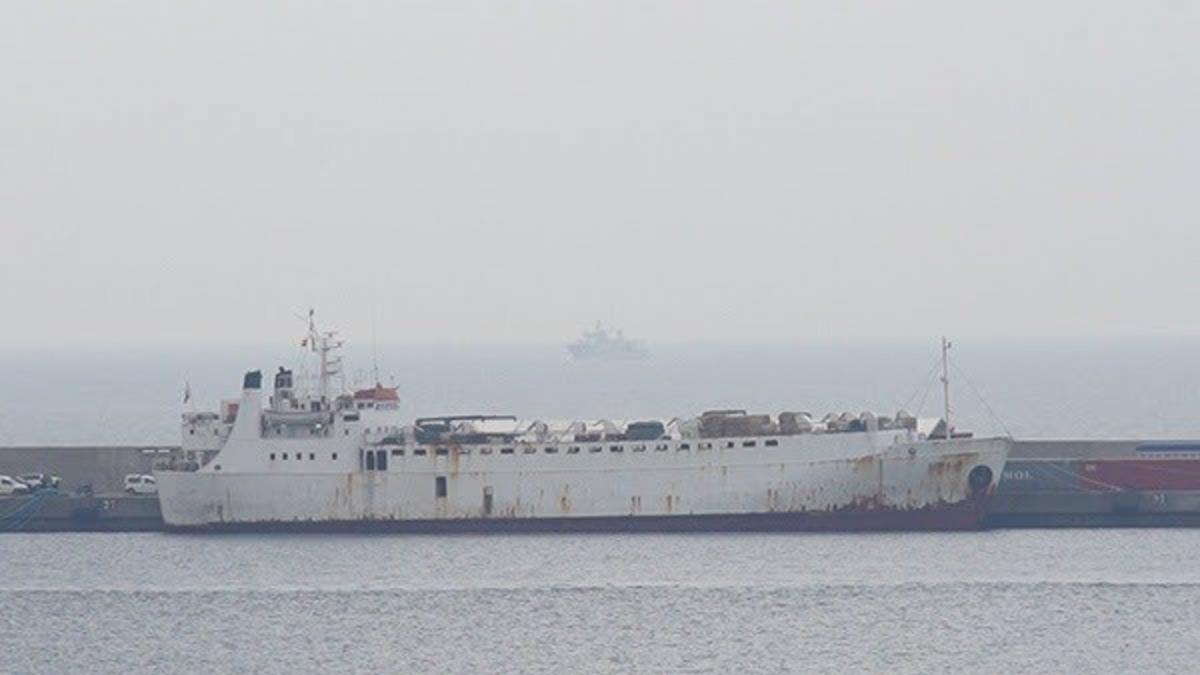 Desembarcan en Cartagena los terneros del barco Karim Allah para ser sacrificados