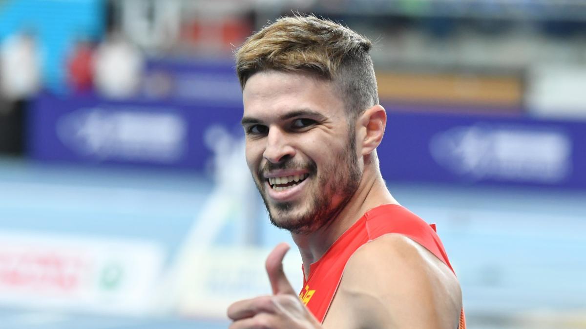 Óscar Husillos se redime y se proclama campeón de Europa de 400 metros en Torun