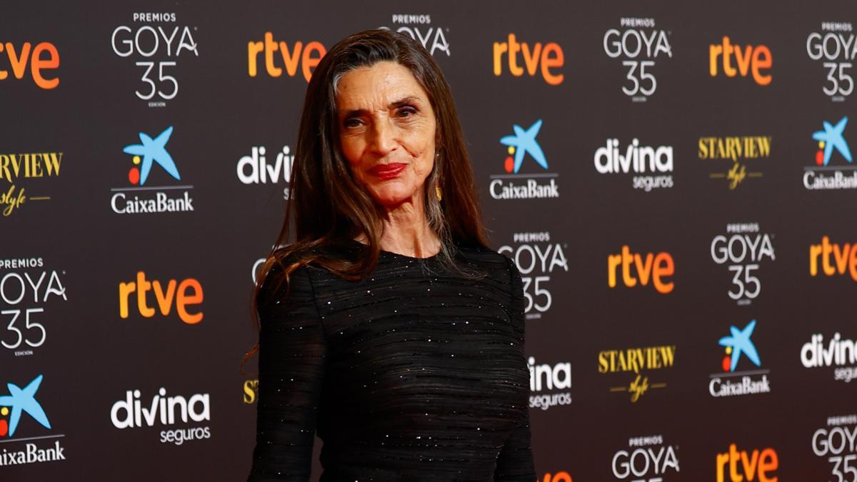 Premios Goya 2021: Ángela Molina dedica su emotivo discurso a sus padres y al cine al recoger el Goya de Honor