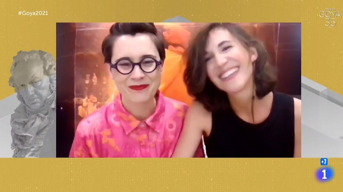 Premios Goya 2021: El discurso más tierno ha sido una canción en euskera