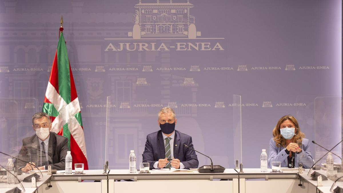 Gobierno Vasco afirma que la vía para evitar más restricciones es cumplir las actuales medidas anticovid