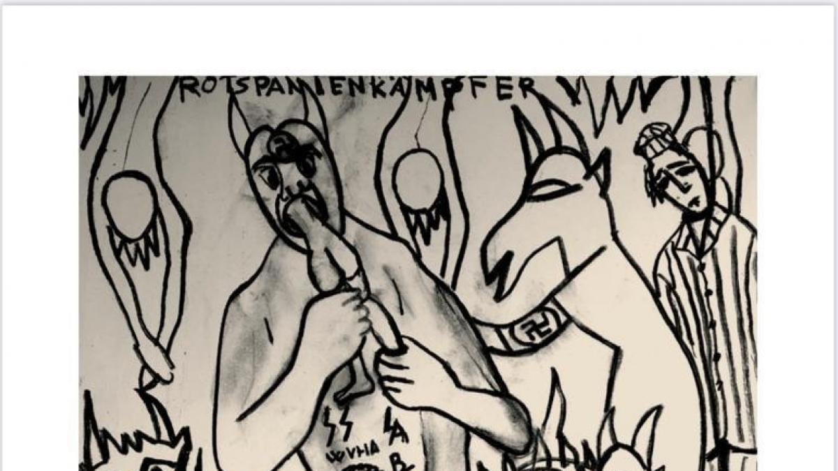 """El memorial de Mauthausen exhibe ya el cuadro de Antonio Camaró contra el horror nazi que retiró por """"indecente"""""""