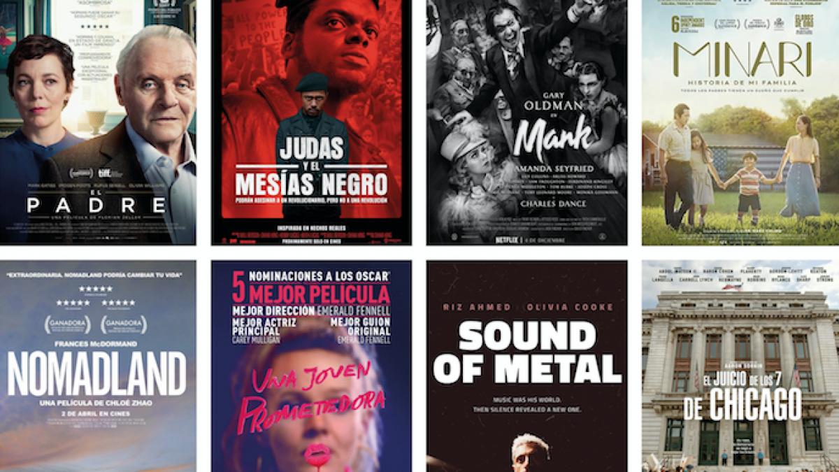 Quién ganará los Premios Oscar 2021: quiniela para elegir a tus favoritas