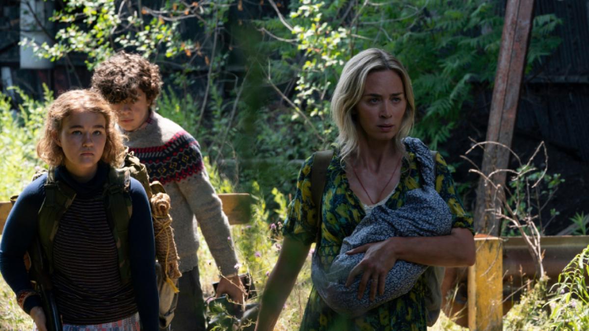 John Krasinski y Emily Blunt mantienen una disputa salarial con Paramount por 'Un lugar tranquilo 2'