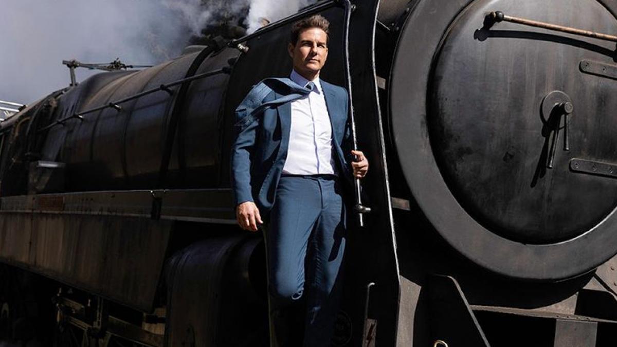 Tom Cruise tiene un tren que coger en las nuevas imágenes de 'Misión Imposible 7'