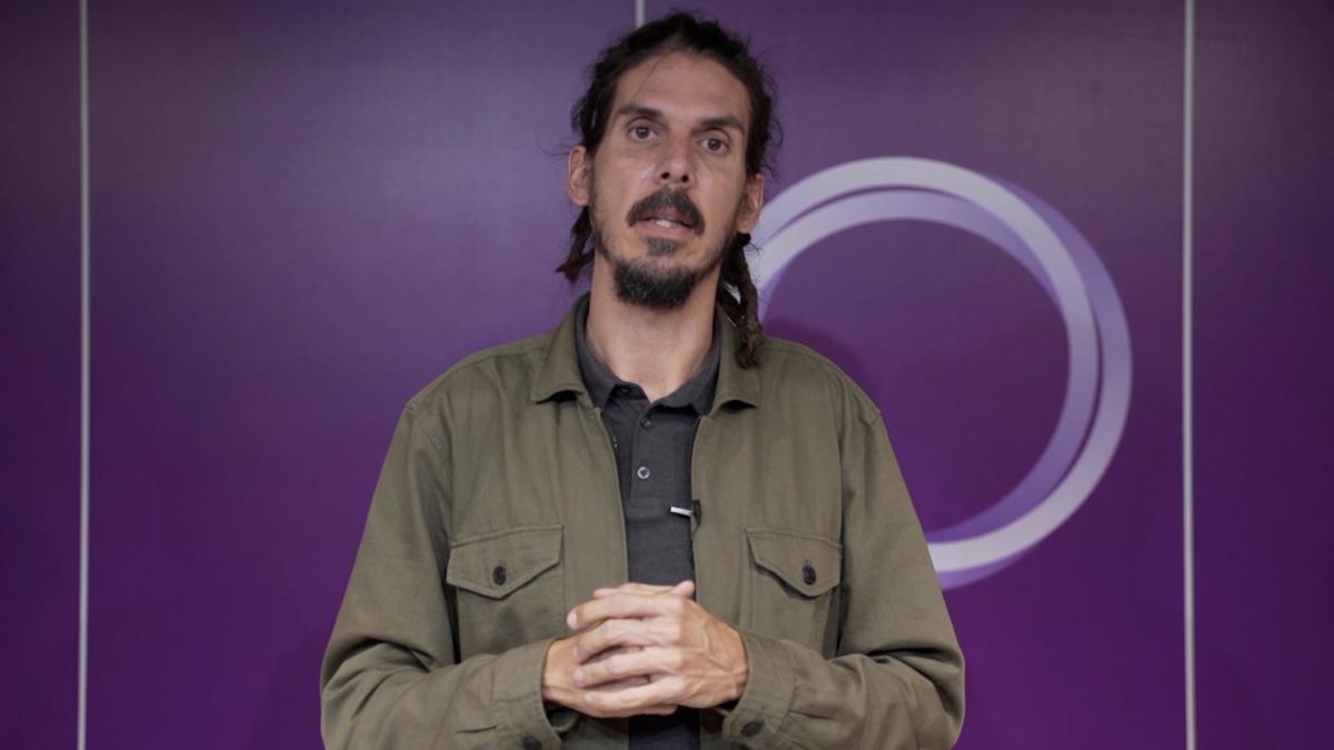 El Congreso mantiene el escaño al diputado de Podemos Alberto Rodríguez tras haber abonado la multa de 540€
