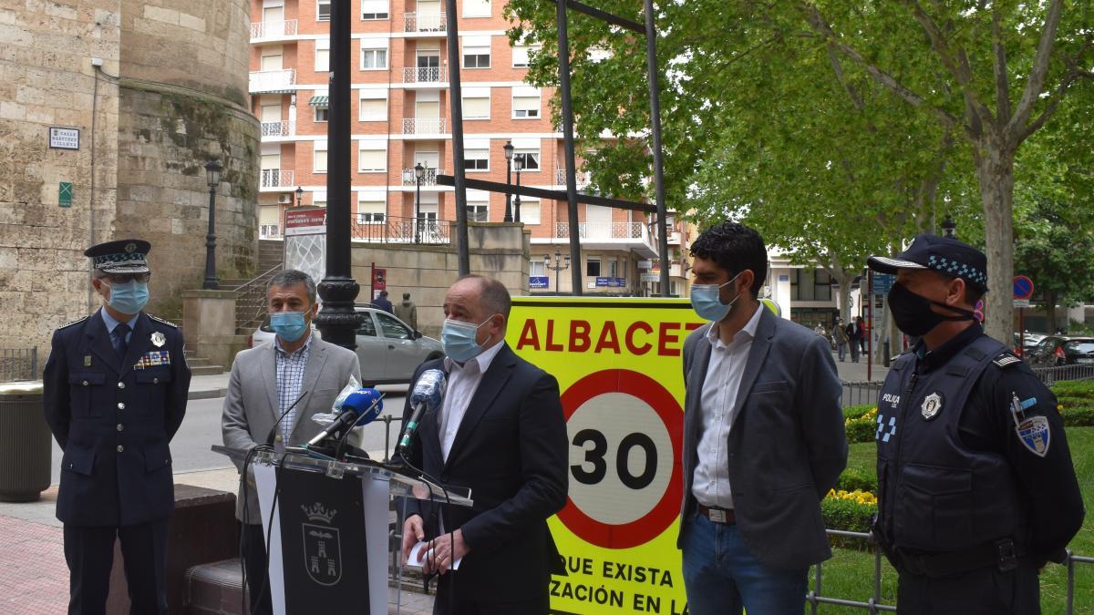 Albacete deja de tener fallecidos en accidentes urbanos al llevar casi un año con limitación de velocidad en sus vías