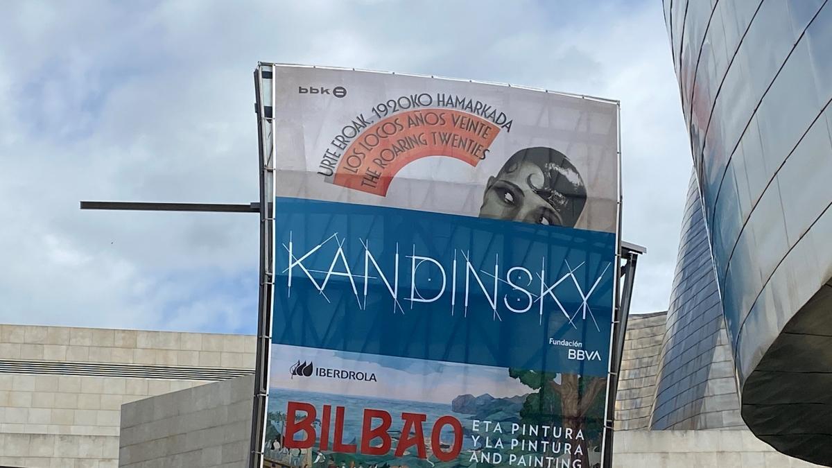 El Museo Guggenheim Bilbao clausurará el 23 de mayo la exposición dedicada a Kandinsky