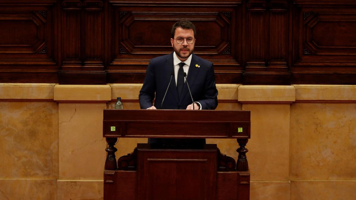 """Aragonès: """"La única estrategia ganadora es forzar una negociación con el Estado y sumar cada vez más independentistas"""""""