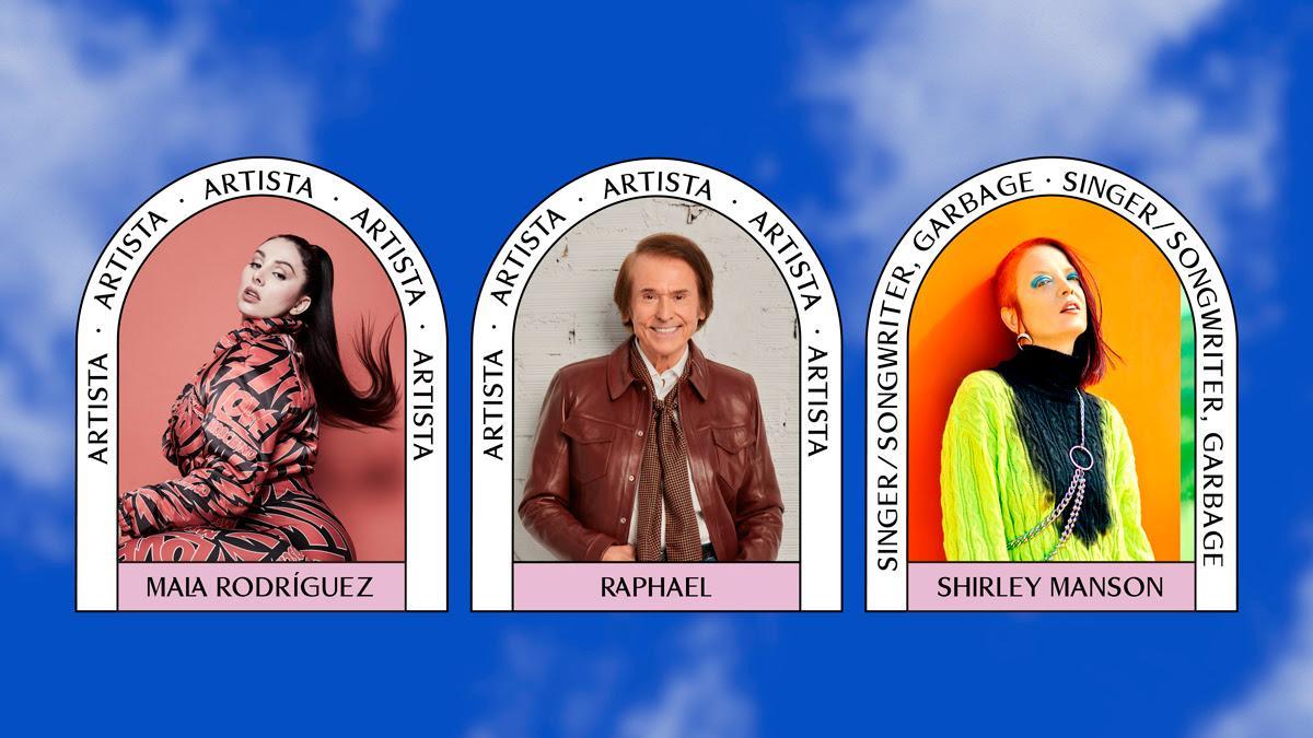 Raphael, Shirley Manson (Garbage) y Mala Rodríguez, artistas confirmados para la 9ª edición de BIME PRO