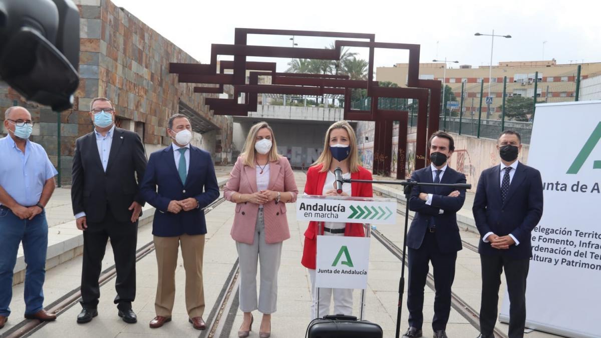 Alcaldesa de Alcalá de Guadaíra destaca la importancia para la ciudad que la UE financie el final del metro