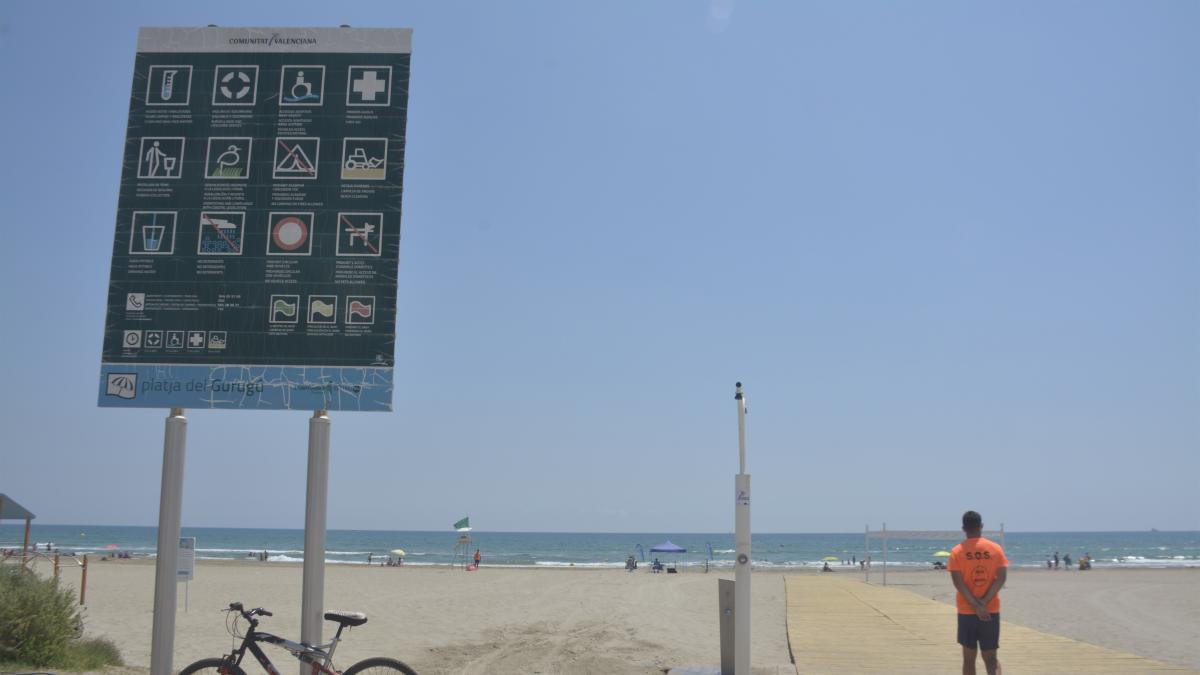 Castelló cerrará sus playas en la Noche de San Juan para evitar posibles aglomeraciones