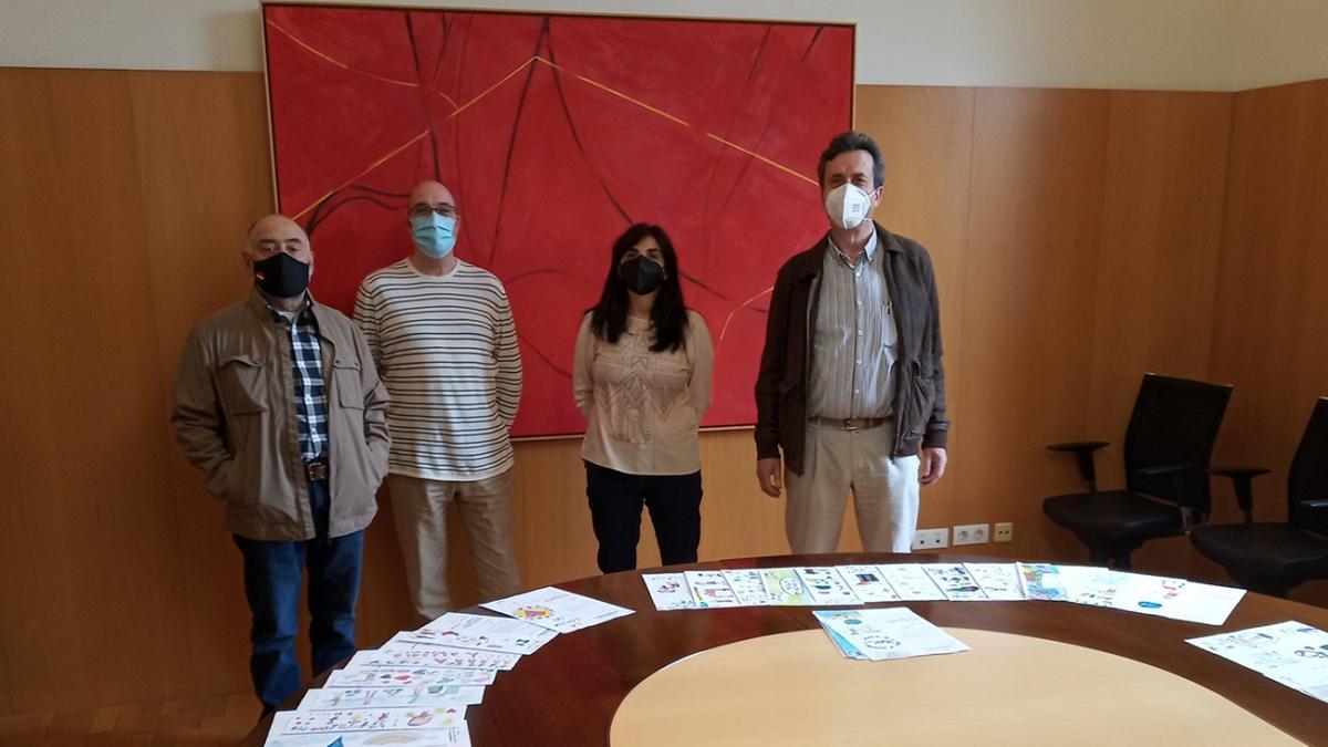 El Banco de Alimentos de La Rioja presenta a los ganadores del VI Concurso de Dibujo Solidario 'La comida no se tira'