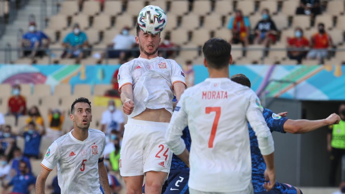Así fueron los cinco goles de España a Eslovaquia con los que se clasificaron a octavos de final de la Eurocopa