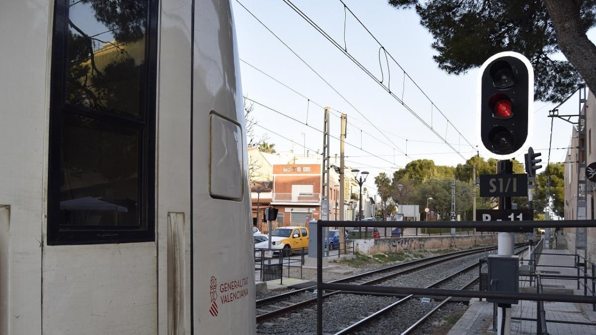 La Generalitat saca a información pública el proyecto para duplicar la vía de la Línea 3 entre Alboraia y Rafelbunyol