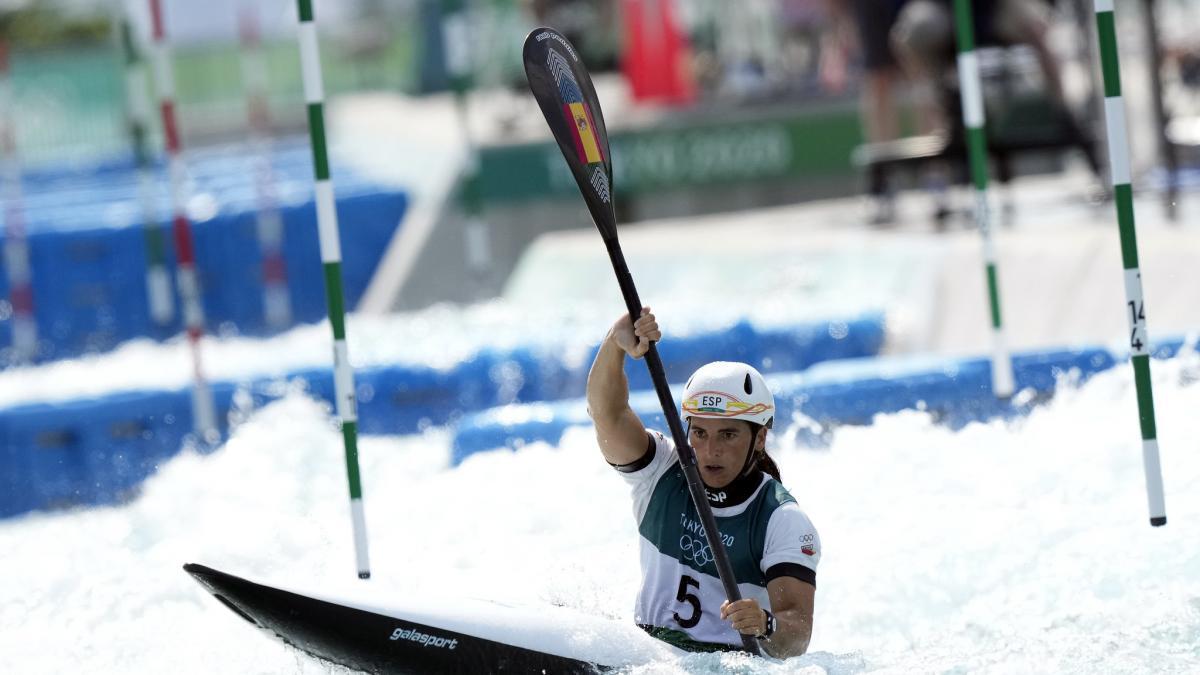 Maialen Chourraut da la tercera medalla a España en los Juegos Olímpicos con su plata en piragüismo ...
