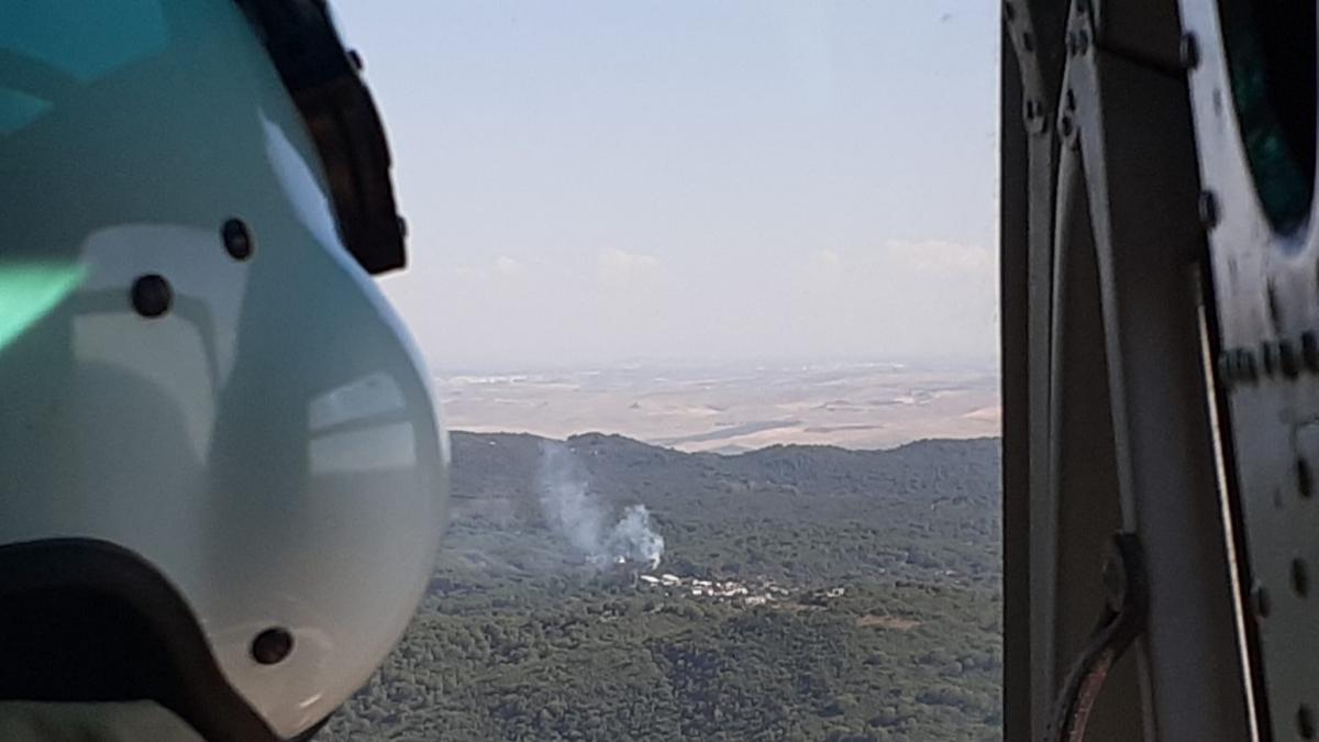 Incendios.- Controlado el incendio forestal declarado en un paraje de Trassierra en la capital