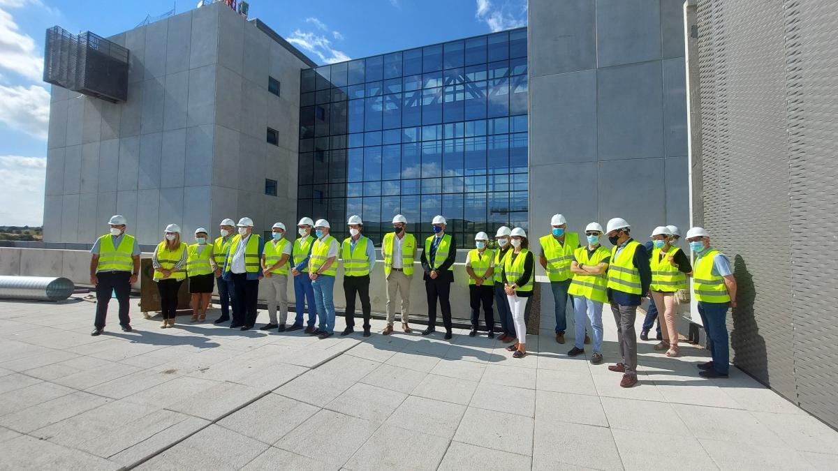 La obra del nuevo hospital de Cuenca llega al 90% en la infraestructura y al 70% la instalación de servicios