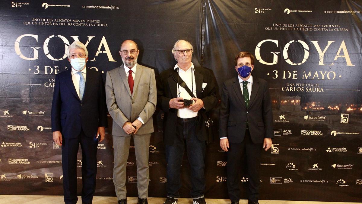 El horror de la guerra pintado por Goya cobra vida con Saura