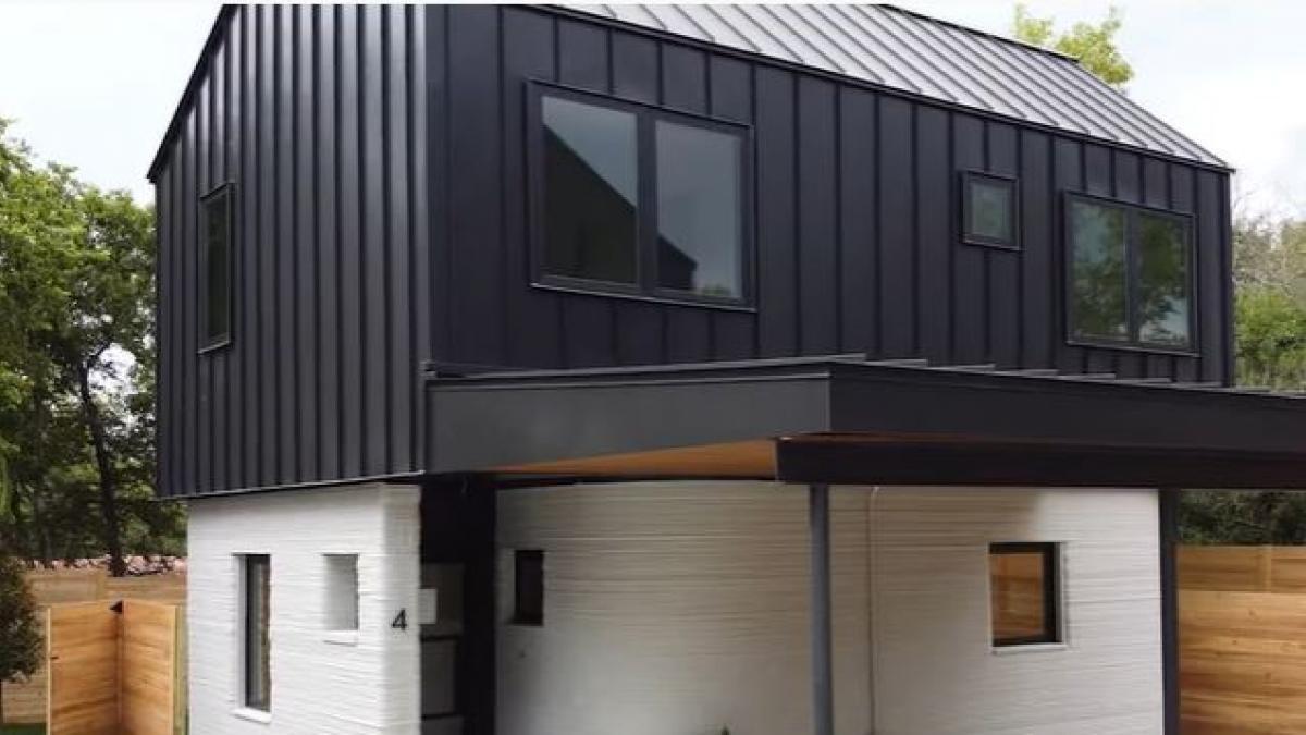 Construyen un residencial de viviendas en solo una semana con esta nueva tecnología