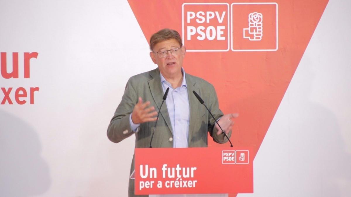 """Ximo Puig: """"El PSPV aporta al socialismo español una visión más descentralizada"""""""