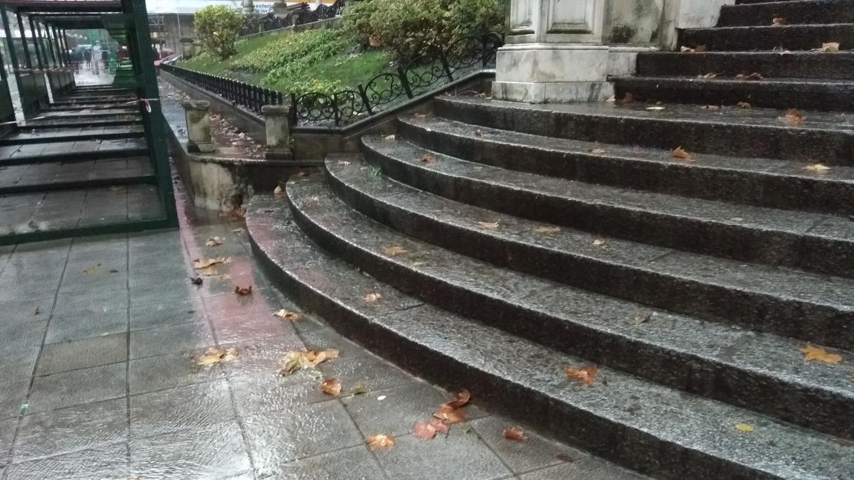 Euskadi activa este lunes el aviso amarillo por riesgo de precipitaciones intensas
