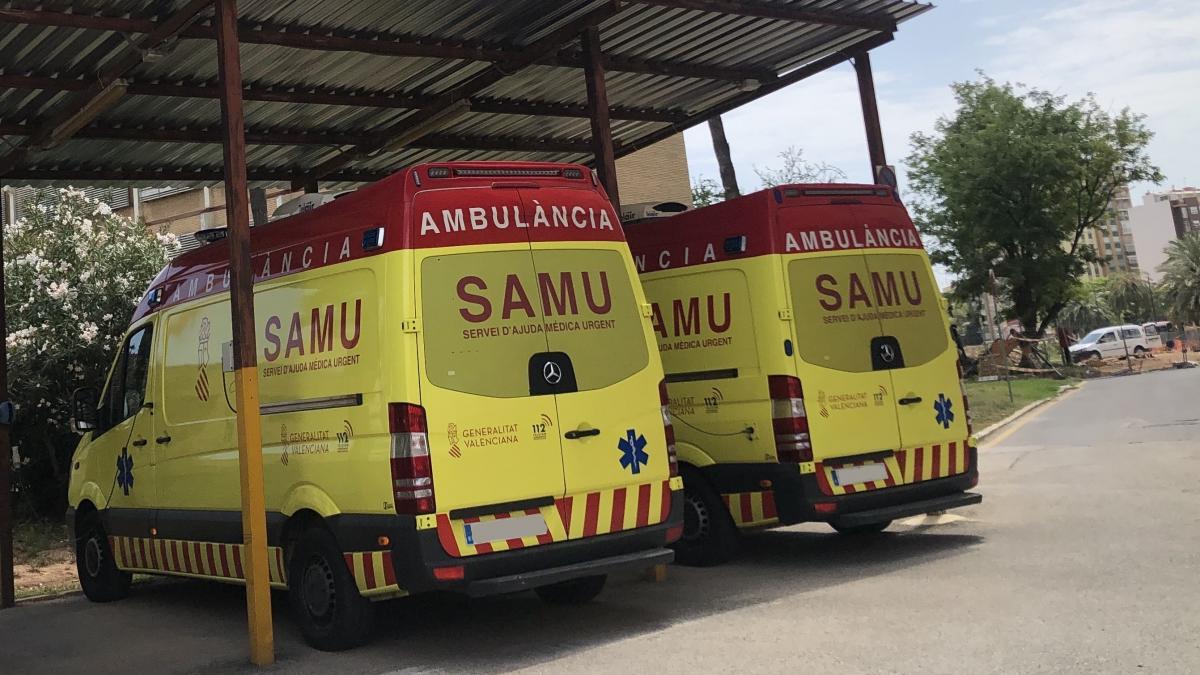 Sucesos.- Un hombre de 72 años resulta herido tras volcar su tractor en Les Useres
