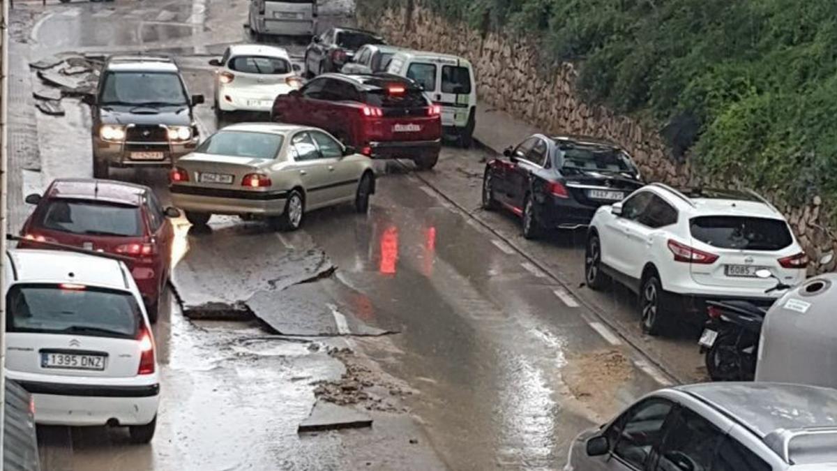 La Aemet activa este miércoles la alerta naranja por lluvias en Cádiz y Málaga