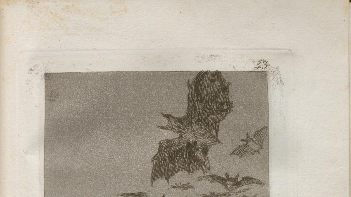 Aparece en Santander una primera edición de los 'Caprichos de Goya' con 80 estampas