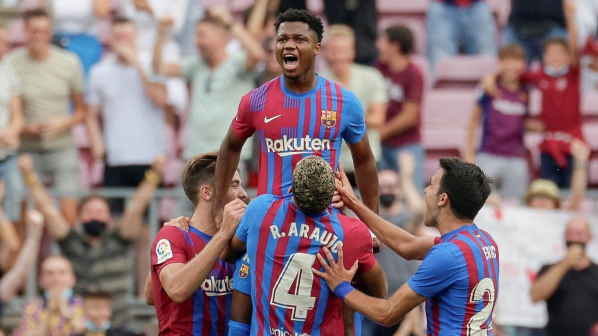 Principio de acuerdo para la renovación de Ansu Fati con el Barça