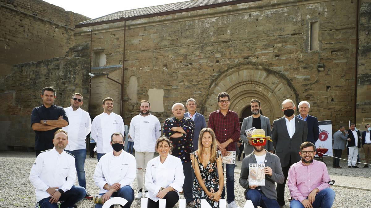 Restaurantes de Lleida ofrecen un menú con productos de la Horta y vinos Costers del Segre