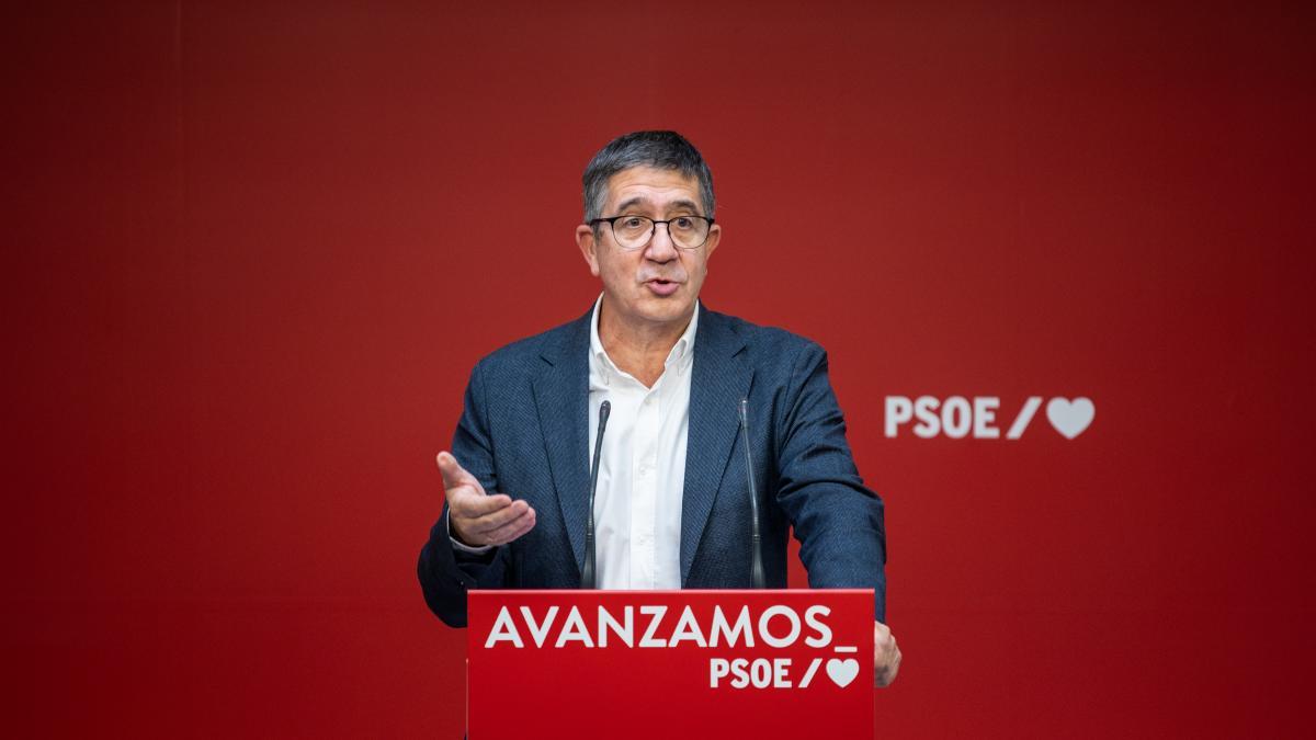 """López responde a Otegi: """"Los presos salen de la cárcel cuando cumplen condena y los jueces lo determinan, y punto"""""""