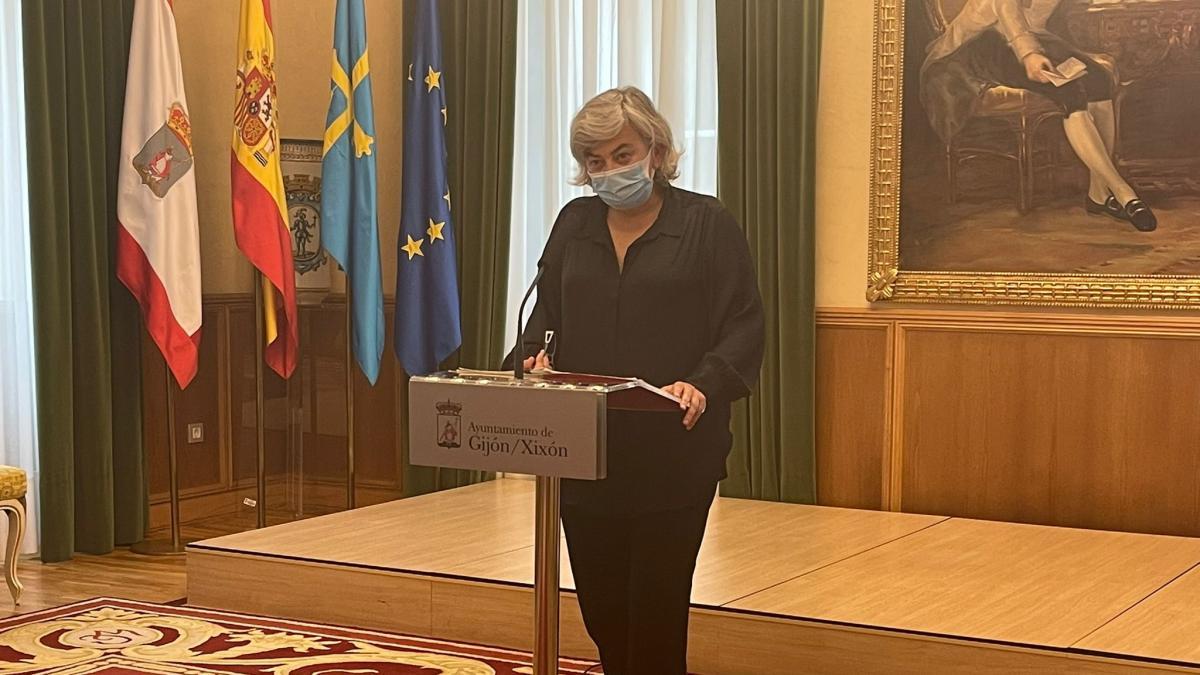 """""""No puedo pactar cosas ilegales"""", advierte la alcaldesa a Podemos sobre algunas de sus propuestas fiscales"""
