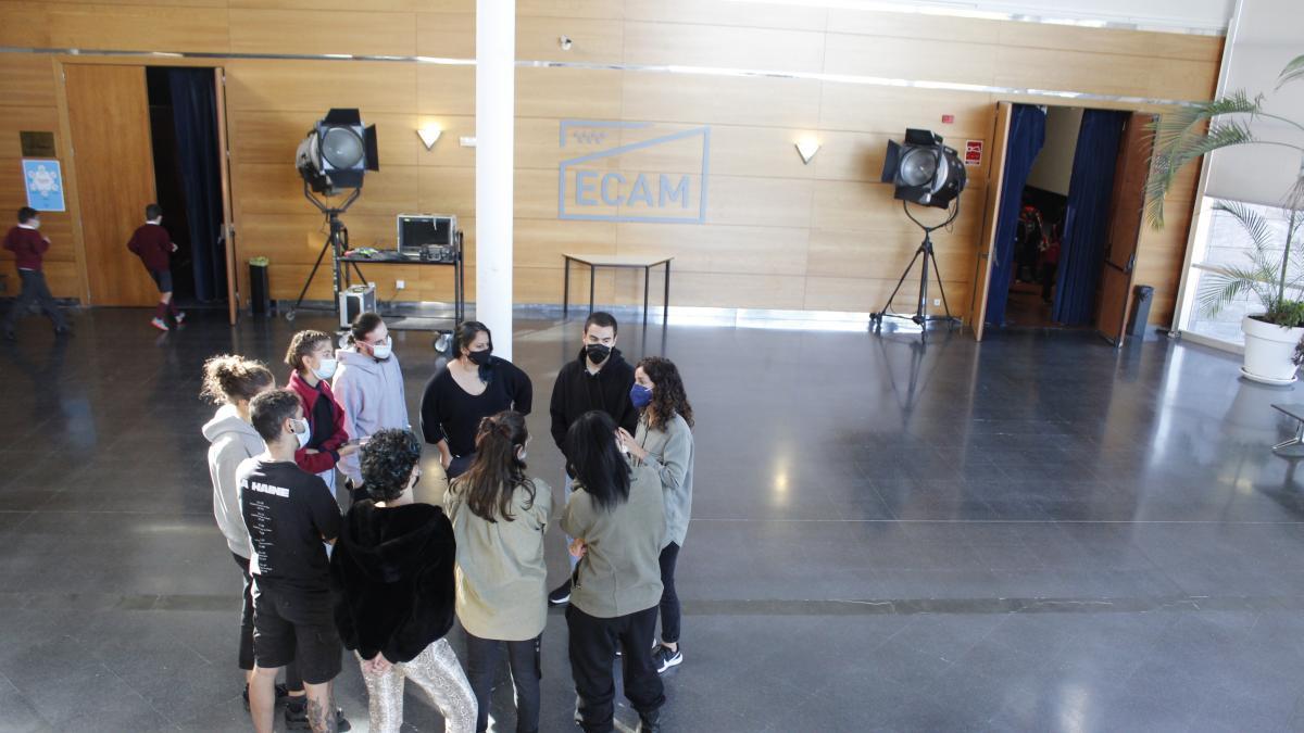 La cantera del cine español estudia en la ECAM de Madrid