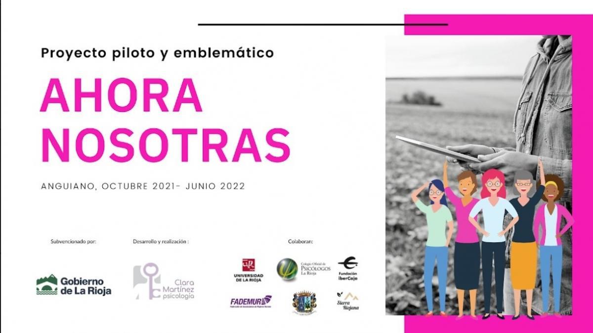 El proyecto 'Ahora nosotras' empodera desde Anguiano a las mujeres rurales riojanas